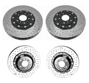 Genuine Front & Rear Carbon Ceramic Disc Brake Rotors Kit for BMW F80 F82 F83 M4