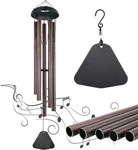 36quot; Large Metal Tube Deep Tone Resonant Bass Sound CHURCH Bell Wind Chimes $19.99