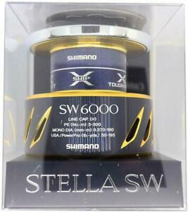 SHIMANO Genuine parts 16 Stella SW6000 series Spool set Tracking number NEW