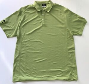 NIKE GOLF Performance DRI-FIT Green Polo Tall Men's XXL. Christmas gift ideas