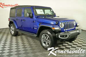 2020 Jeep Wrangler Sahara New 2020 Jeep Wrangler Unlimited Sahara 4WD SUV 31Dodge 200277