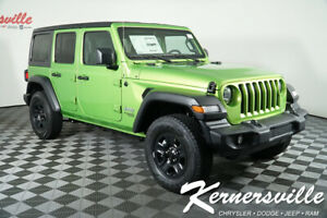 2020 Jeep Wrangler Sport 4WD I4 Turbo SUV USB AUX Backup Camera New 2020 Jeep Wrangler Unlimited Sport 4WD I4 Turbo SUV USB AUX 31Dodge 200159