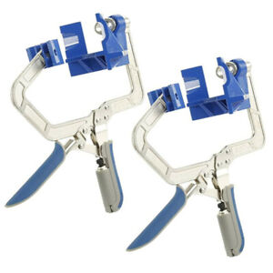 2 PCS 90 Degree Right Angle Clamps Corner Holders Woodworking Wood Hand Tools $34.30