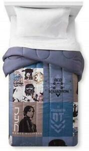 Star Wars Twin/Full Reversible Rogue One Comforter Bedding 76