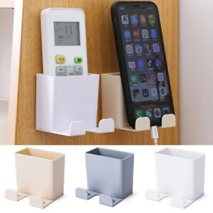 TV Air Conditioner Remote Control Holder Case MobilePhone Wall Mount Storage Box