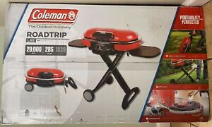 Coleman Roadtrip LXE Portable Grill New Red Propane Camping Tailgating