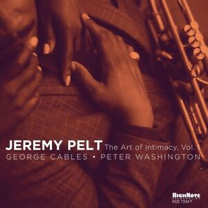Jeremy Pelt The Art Of Intimacy, Vol. 1 New CD
