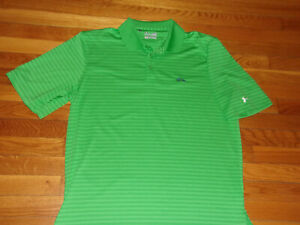 UNDER ARMOUR RIVER CREST GOLF CLUB SHORT SLEEVE LOOSE POLO SHIRT MENS LARGE EXC $14.99