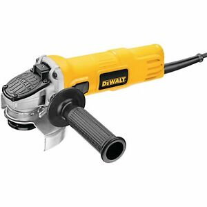 DEWALT DWE4011R 4-1/2-Inch 7 Amp Small Angle Grinder With One-Touch Guard