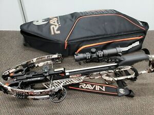 RAVIN R10 Hunting Crossbow with Case + Bolts - Very Good Bow ($1599 at Store)