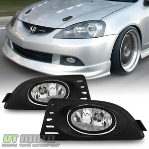 2005 2006 2007 Acura RSX Bumper Fog Lights Driving LampsSwitchRelay LeftRight $38.99