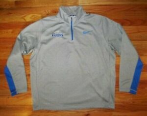 NIKE XL Therma Fit Falcons Basketball 1 4 Zip Pullover Jacket photo # 7603 $16.00