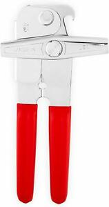 EZ DUZ IT American Made Red Grips Manual Deluxe Can Opener - Made In The USA