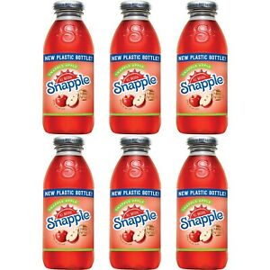 Snapple Apple, Made From The Best Stuff On Earth, All Natural, 16oz Bottle (P...