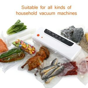 Bags for Vacuum Sealer Food Saver Storage chamber Keep Meal Fresh 28X500cm Roll