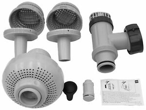 Intex 26004 Above Ground Swimming Pool Outlet Air Water Jet Replacement Part Kit