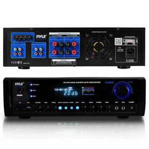 Pyle Digital Home Theater Bluetooth 4 Channel Radio Aux Stereo Receiver PT390BTU $127.99