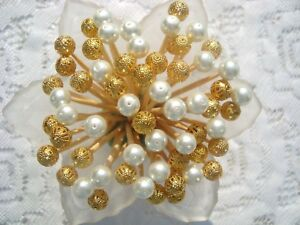 Gold White Pearl 4