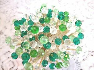 Green Mix Crystal Easter Spring Mix Toothpick Wedding Dinner Party Food Picks