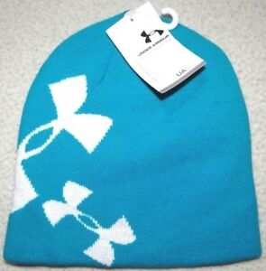 Under Armour Girls Glow Reversible Knit Beanie Hat $25 $14.00