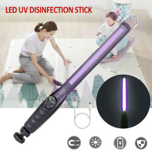 Portable Sterilize UV C Light Germicidal UV Lamp Home Handheld Disinfection USB $17.82