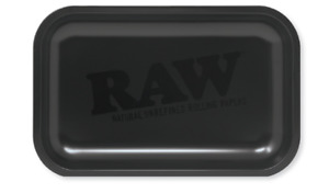 RAW Murder'd Rolling Tray Matte Black 11x7 NEW 2020 LIMITED Edition RAWthentic $12.87