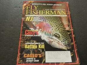 Fly Fisherman July 2007 NJ Best Trout Streams Caolo#x27;s Deadly Crab ID:27188