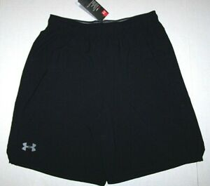Nwt New Under Armour UA Qualifier 9 Woven Shorts Loose 9 inch Heatgear Nice Men $25.99