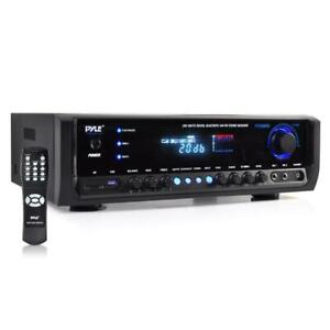 New PT390BTU Bluetooth Digital Home Theater MP3 USB SD Stereo Receiver 300 Watt $97.99