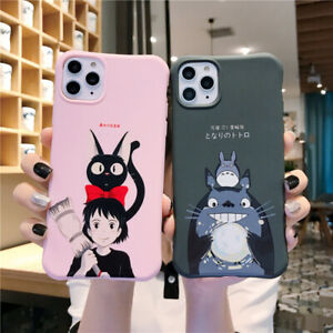 Cartoon Totoro Soft Phone Case Cover For iPhone11 Pro 6 7 8Plus XR XsMax Cute