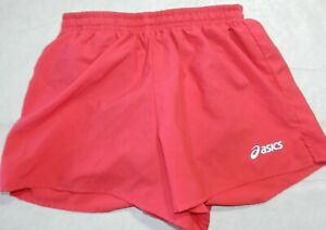 Womens shorts ASICS size SMALL pink running shorts with inner briefs $10.00