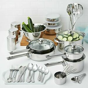 COOKWARE SET Stainless Steel 18 Piece 10 Pieces 52 Pieces