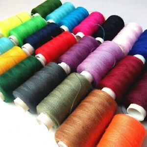 2PCS Polyester Sewing Thread 15 Hot Color Tread Reels 200m Hilos Machine Threads $1.99