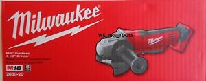 NEW IN BOX Milwaukee M18 2680 20 Cordless Cut Off Grinder 4 1 2quot; Paddle 18 Volt