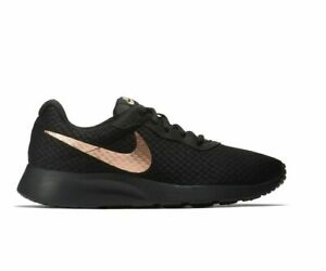 Nike Women Tanjun Shoe Athletic Sneaker Rose Gold $69.99