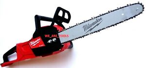 NEW Milwaukee 2727 20 16quot; M18 Chainsaw Fuel Cordless Brushless W Chain 18 Volt $239.97
