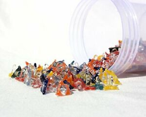 100 Count assorted Glass Jack Style Pipe Screens Quality Glass USA $6.75