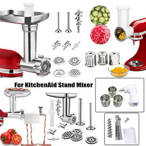 Food Meat Grind /Prep Slicer/Tomato Juicer Attachment For KitchenAid Stand Mixer