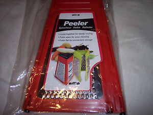 Grater 3 in 1 Folding Grater,Folds Flat for Storage,Locks For Sturdy Grating