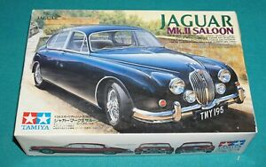 Jaguar Mk. II Saloon Tamiya 1 24 Complete Unstarted w Metal Wire Wheels