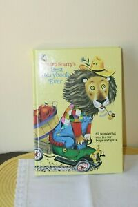 RICHARD SCARRY'S BEST STORYBOOK EVER 1995 GOLDEN BOOKS SERIES BINDING UPSIDEDOWN