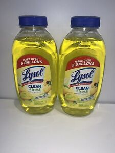 Lysol Clean Fresh Multi Surface Cleaner, Lemon & Sunflower - 10.75oz Lot2