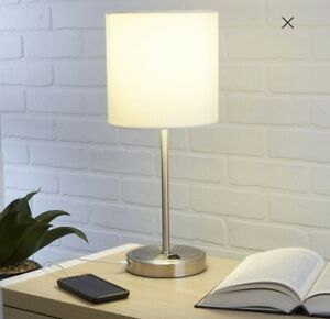 White Grab and Go Stick Lamp with USB Port FREE SHIPPING (Bundle Deal inside)