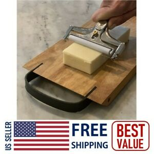 Adjustable Cheese Slicer Cutter Butter Grater Planer Stainless Steel Wire Tool
