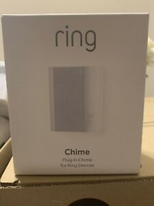 RING CHIME PLUG-IN WHITE [FREE SHIPPING]