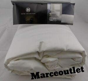 Hotel Collection 525 Thread Count 100% Cotton 3PC QUEEN Sheet Set White
