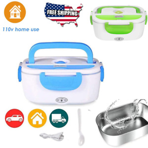 Portable Electric Heating Lunch Box Car Microwave Food Heater Warmer Travel