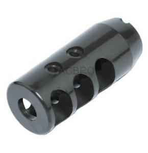 14x1 LH Left Hand Thread Pitch Muzzle Brake Compensator for 7.62x39 Steel $23.99