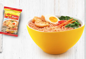 6 pcs MAGGI CURRY INSTANT NOODLE ORIGINAL FROM MALAYSIA