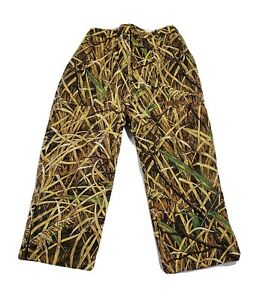 Herters Skyline Camo Waterproof Coated Outdoor Pants Size Youth XL 34x27